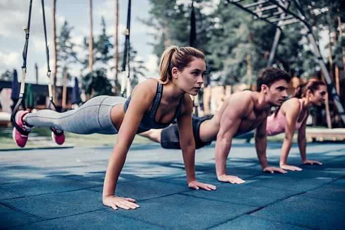 Outdoor Fitnessstudio im Fitness-Loft Emmendingen