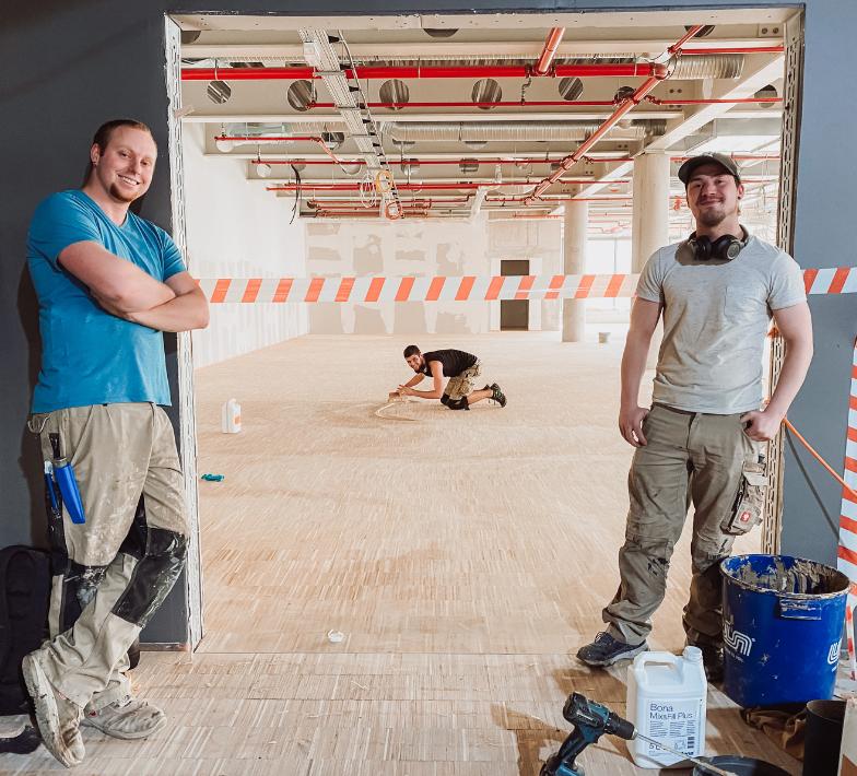 Fitness-Loft Offenburg Baustelle
