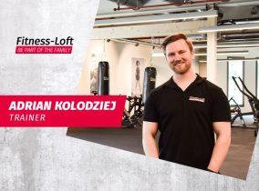 Trainer Adrian aus dem Fitness-Loft Offenburg
