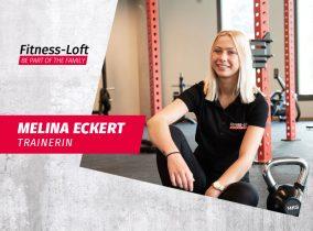 Trainerin Melina Eckert aus dem Fitness-Loft Offenburg
