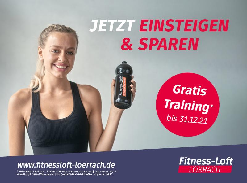 Fitness-Loft Lörrach Einsteigen & sparen