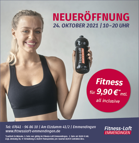 Neueröffnung Fitness-Loft Emmendingen