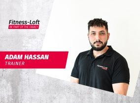Trainer Adam Hassan Fitness-Loft Emmendingen
